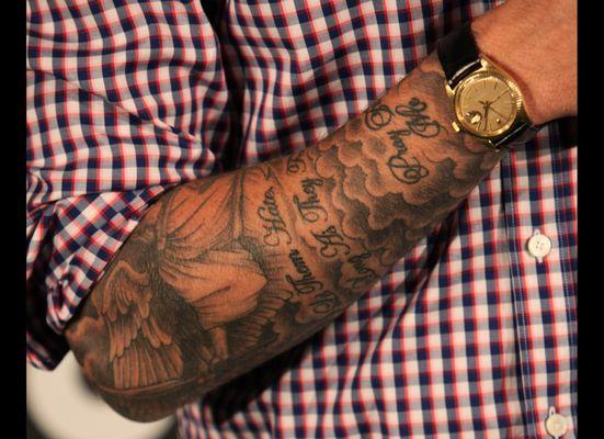 Hood Forearm Sleeve Tattoo Best Tattoo Ideas