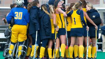 <p>The women's field hockey team thought they were going to have their season opener on their home turf, but they're still without a playing field.</p>