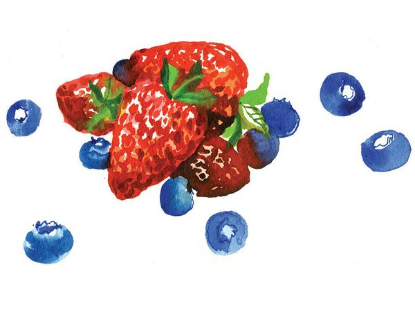 If you like to add fruit to your cereal or yogurt, go for blueberries and strawberries -- they're clear winners. A study of r