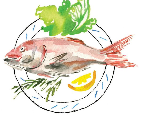 The Mediterranean diet can include a whopping six servings of fish a week, but if that's too much for you, don't stress: The