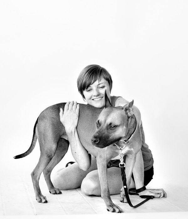 """""""I volunteer because of the impact I can have on one dog in one moment. It is easy to get lost in the hugeness of t"""