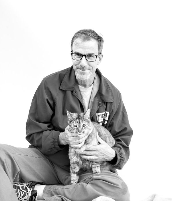 """I often have the public make the comment to me when they see my work with shelter cats, 'It's so great that"