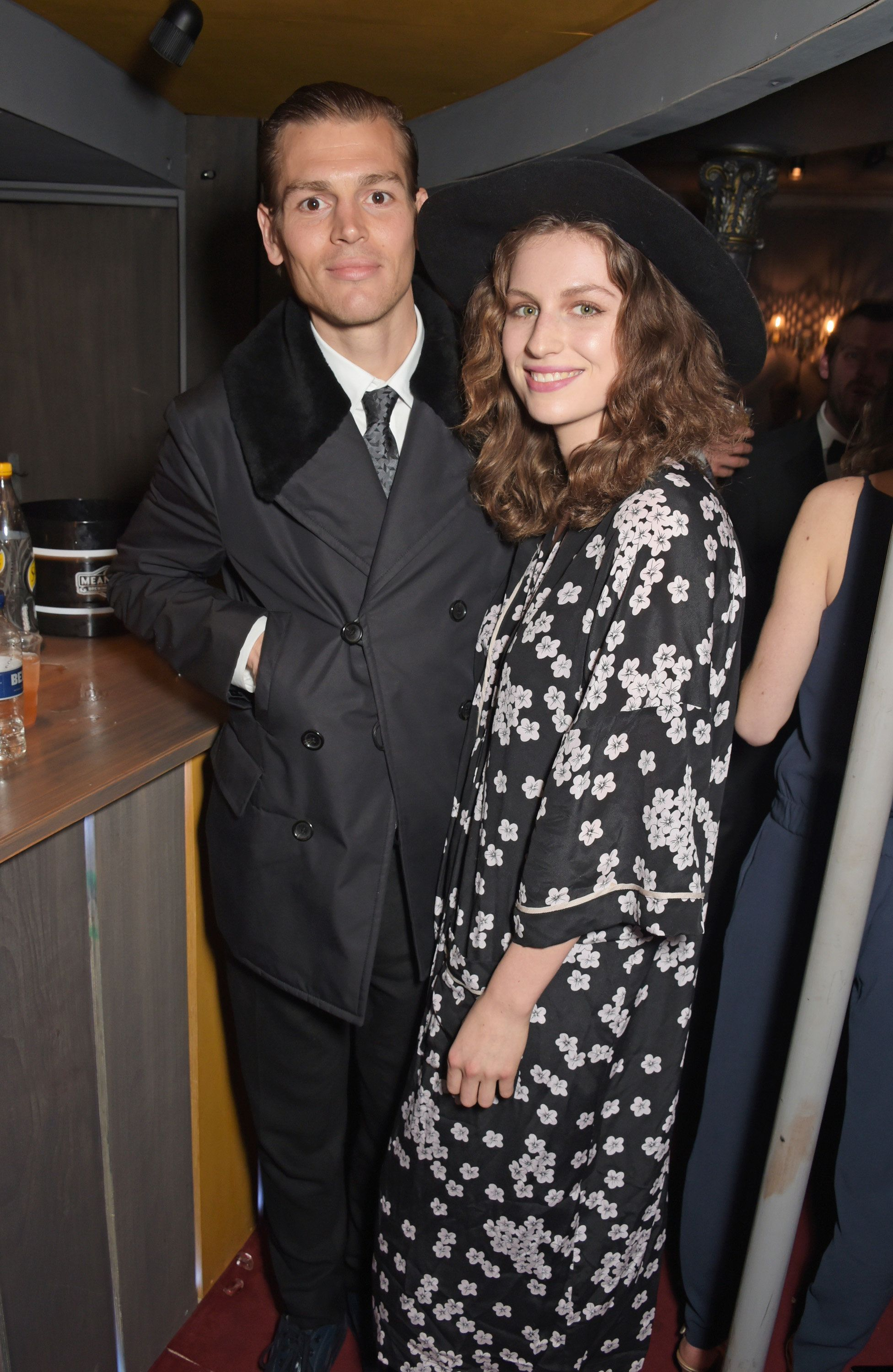 LONDON, ENGLAND - APRIL 19:  Tali Lennox (R) and Ian Jones attend The Old Vic for A Gala Celebration in Honour of Kevin Spacey as the artistic director's tenure comes to an end on April 19, 2015 in London, England.  (Photo by David M. Benett/Getty Images)