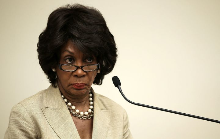 Rep. Maxine Waters (D-Calif.), pictured, along with Sens. Sherrod Brown (D-Ohio) and Elizabeth Warren (D-Mass.), have critici