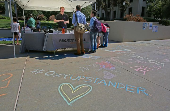 Occidental College in Los Angeles ranked No. 1 for the most sexual assaults reported on campus between 2011 and 2013.