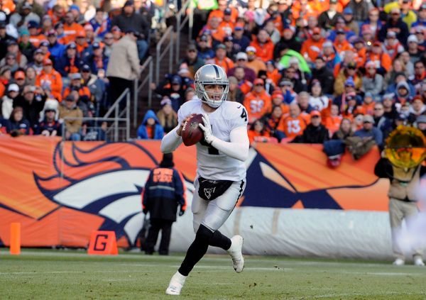 Carr had a solid rookie campaign, despite playing on a wretched football team with little help. The Raiders went out and got