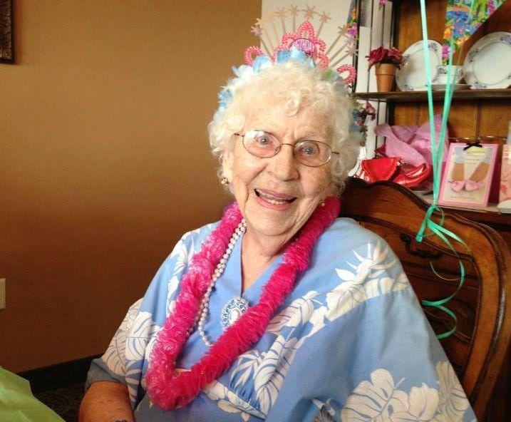 <p>Shirley Bachelder, 94.</p>