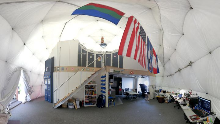 """A look inside the """"Martian"""" habitat, where a team of six scientists will spend a full year beginning Aug. 28."""