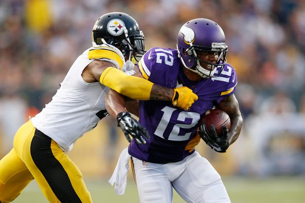 Johnson -- not the more-hyped Cordarrelle Patterson --is the one to watch for on the perimeter for the Vikings. A true d