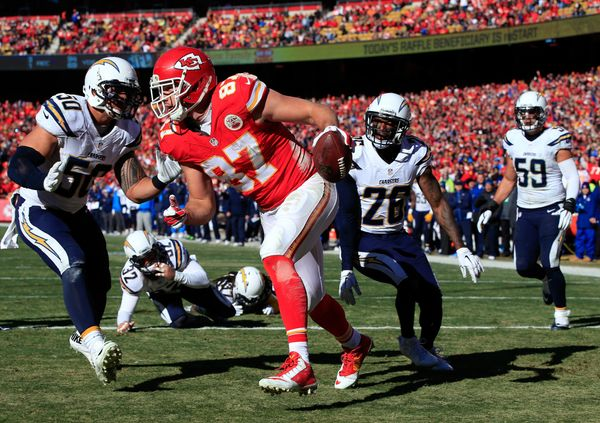"""Gronk-lite,"" as I refer to Kelce, is a physical specimen with tremendous athletic ability and a receiving skill set we simpl"