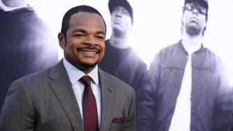 LOS ANGELES, CA - AUGUST 10:  Director F. Gary Gray attends the premiere of 'Straight Outta Compton' at Microsoft Theater on August 10, 2015 in Los Angeles, California.  (Photo by Jason LaVeris/FilmMagic)