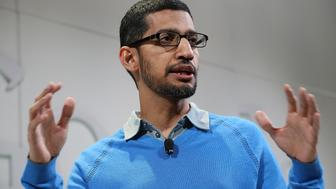 <p>Google's new CEO, Sundar Pichai.</p>