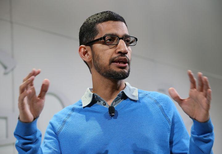 Google's new CEO, Sundar Pichai.