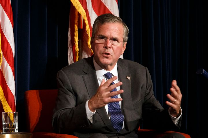 "Jeb Bush said in June he doesn't <span>""get economic policy from my bishops or my cardinal or my pope.""</span>"