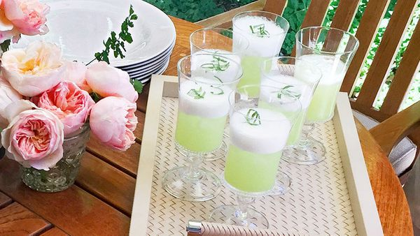 On a sunny day in Santa Barbara, Oprah and O staffers cooled off with these tasty drinks. You can make them without alcohol o