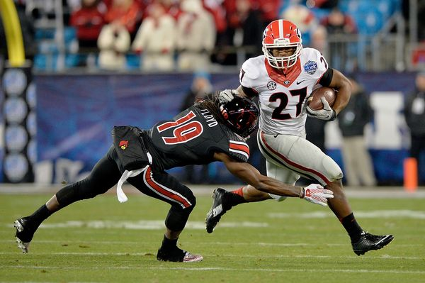 He may not be Todd Gurley (or Herschel Walker or Terrell Davis or Garrison Hearst), but Chubb -- the SEC Freshman of the Year