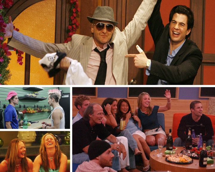 """Clockwise from top: """"Chilltown"""" allies Mike and Will, select cast members from Season 4, twins Adria and Natlie, and allies Z"""