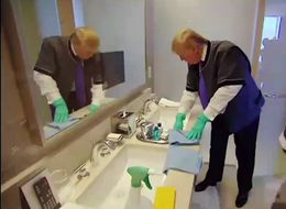 That Time Donald Trump Tried Doing Various Jobs At His Own Hotel