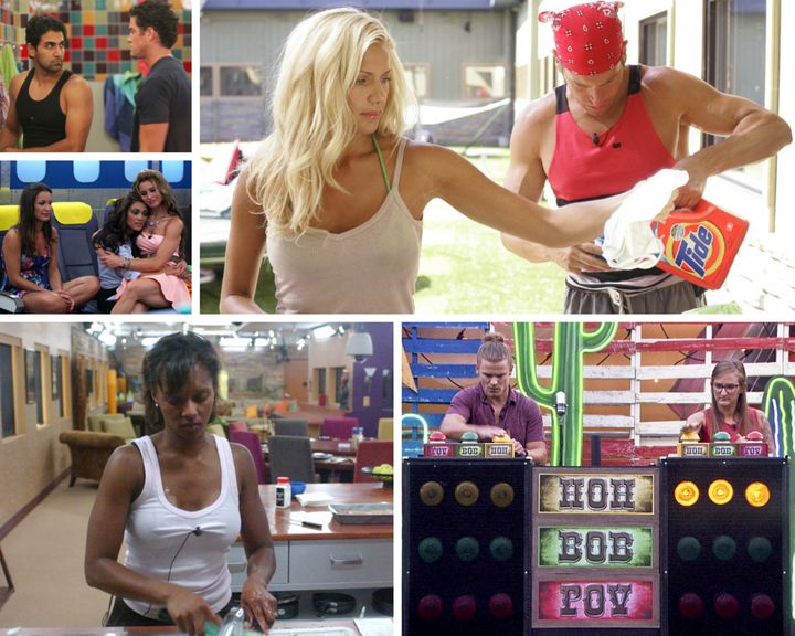 Clockwise from top left: Kaysar and Michael; Janelle and Howie; Hayden and Christine; Danielle; and Jessie, Candice and Eliss