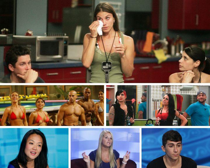 Clockwise from top: Michael, Racheland Sarah; Ashlea, Jennifer, Eric, Beau and Ivette; Jenn, JoJo and Willie; Jason; Jo