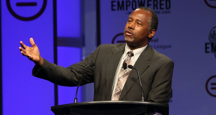 GOP presidential candidate Ben Carson was involved with research on fetal tissue.