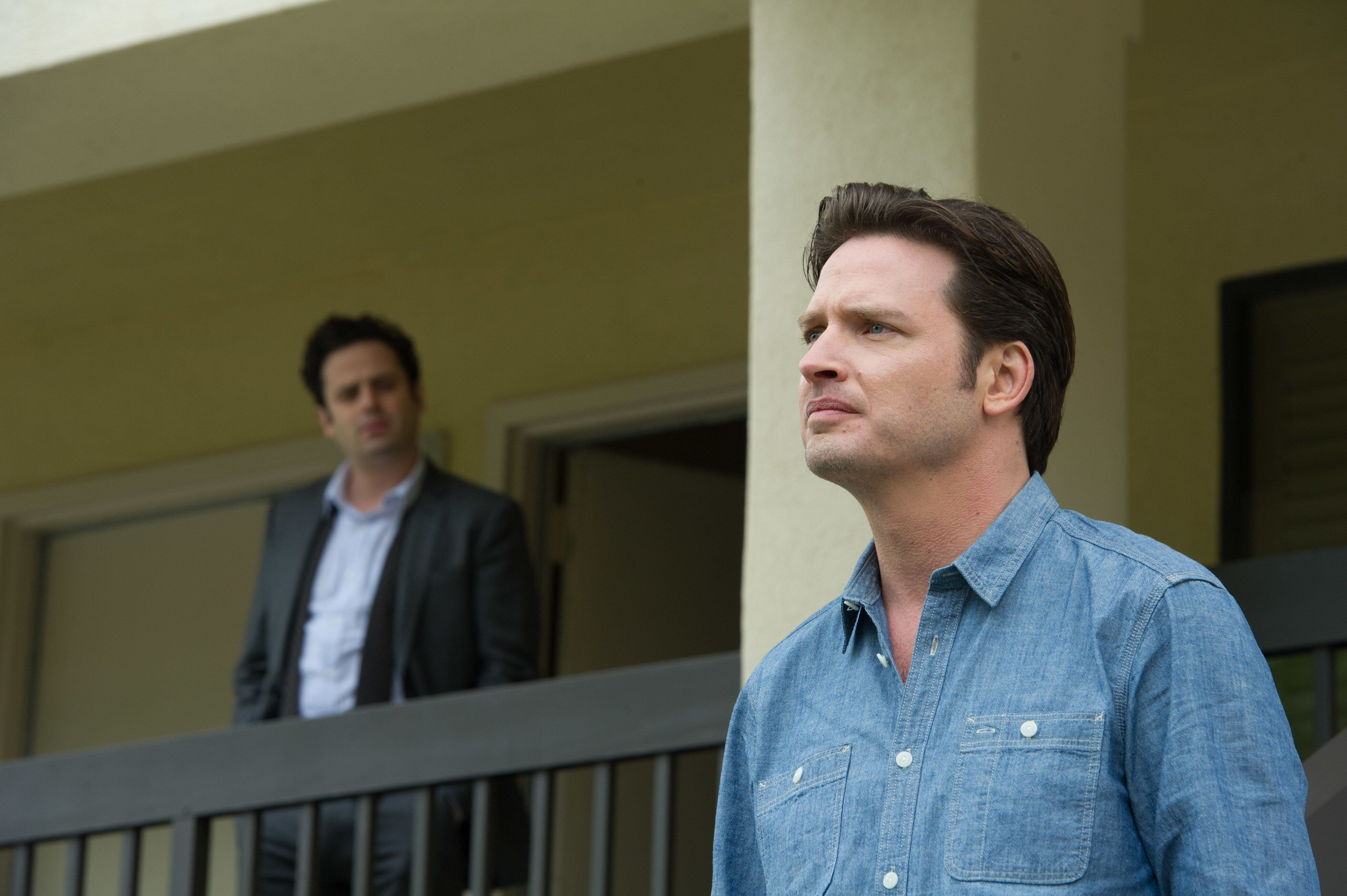 Luke Kirby and Aden Young in 'Rectify.'