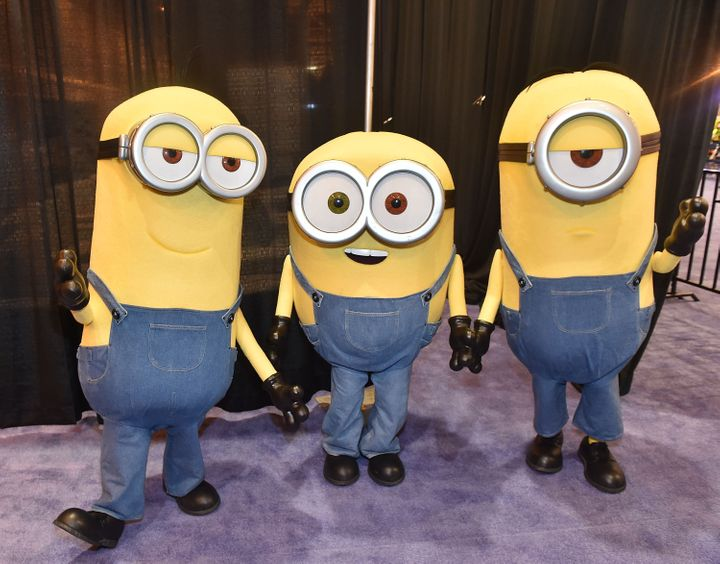A photo of some Minions, right before they feasted on the souls of the innocent.