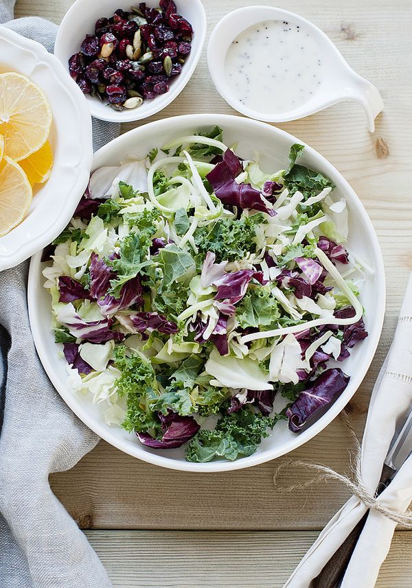 """Tasteless and nutrient-lacking iceberg isn't the only salad base that chefs think we're wasting our time with (<a href=""""http:"""