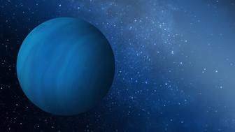 """<p><span style=""""font-family: Arial, Helvetica, sans-serif; font-size: 14px; line-height: 20px; background-color: #eeeeee;"""">Artist's impression of the missing gas giant planet that may have been ejected from the early solar system.&nbsp;</span></p>"""