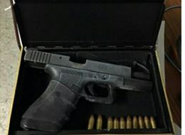 Loaded Glock Found In Hollowed-Out Fake Bible