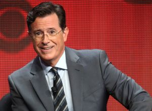 stephen colbert college admission essay