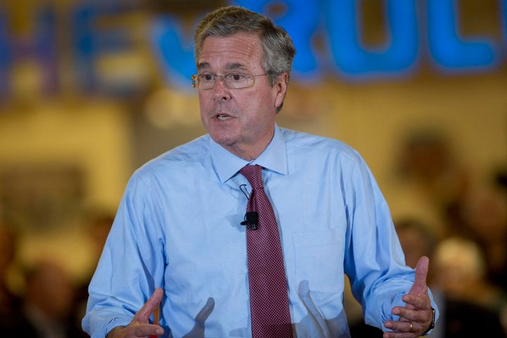 Presidential candidate Jeb Bush.
