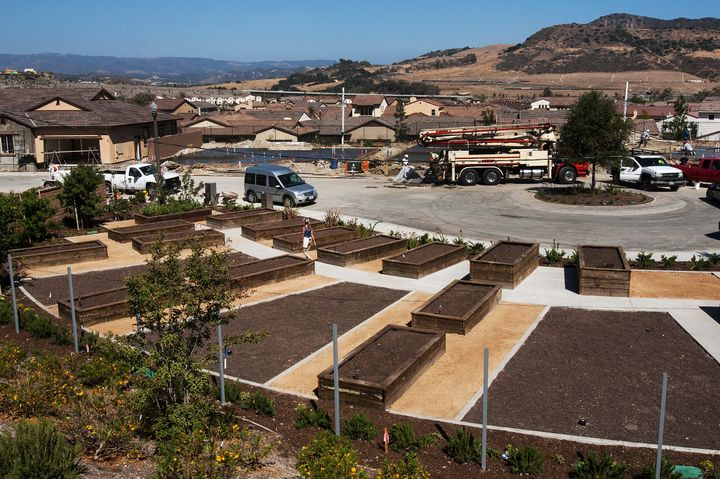 <span>A community garden is in the works at Rancho Mission Viejo on June 25, 2104 in San Juan Capistrano, California. Rancho