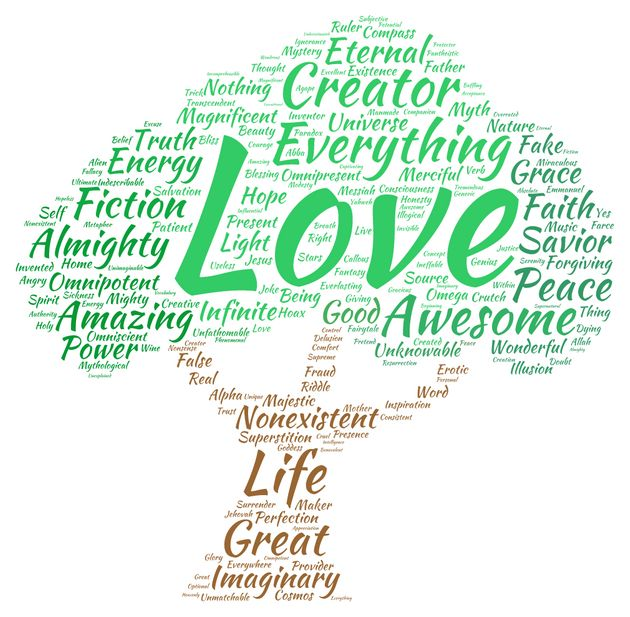 We Asked Our Readers To Define God In One Word. Here's What They Told