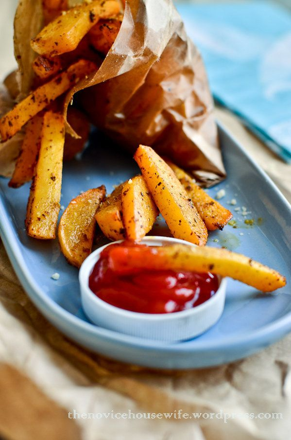 """<strong>Get the <a href=""""http://www.novicehousewife.com/2012/05/22/oven-baked-rutabaga-fries-a-review-a-giveaway/"""">Oven Baked"""