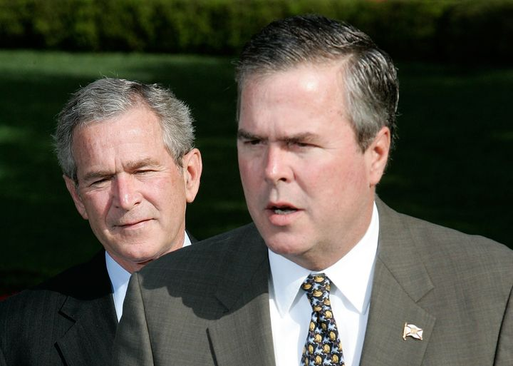 Jeb Bush said on Friday that his last name doesn't matter. In 2006, while Bush was governor of Florida, he appeared with