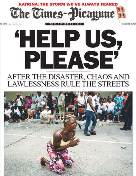 The Times-Picayune, Heroic During Hurricane Katrina, Braces