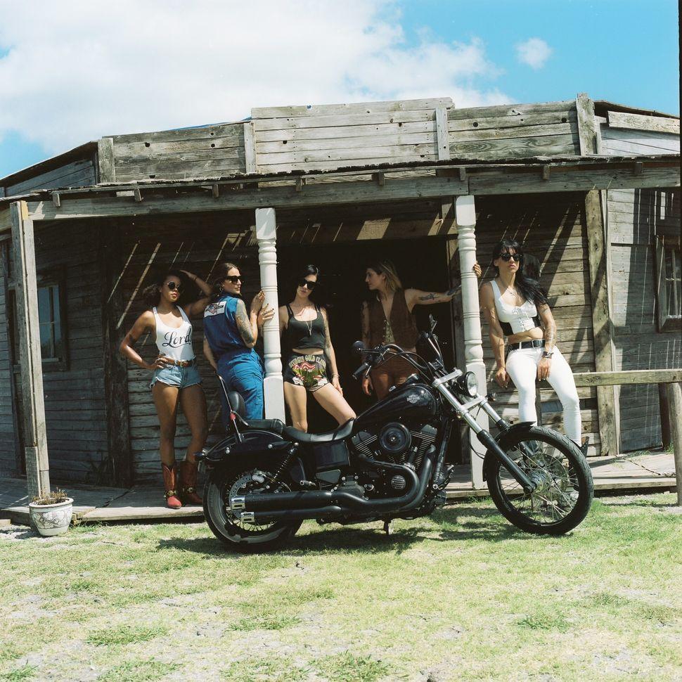 Left to right:Megan Allen, Nina Kaplan, Imogen Lehtonen, Lanakila MacNaughton and Jenny Czinder