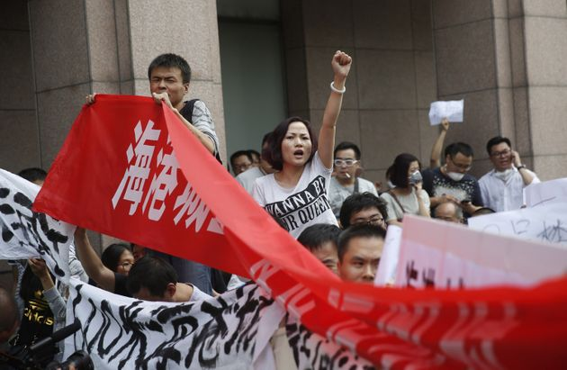 Rain Threatens To Ignite Toxic Chemicals At Chinese Blast