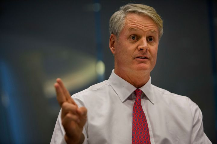 <span>John Donahoe plans to spend the next six months recharging and relaxing.</span>