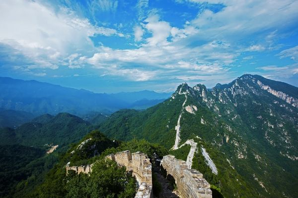 It's a myth that it can be seen from space, but this awe-inspiring maze of walls and fortifications stretching for an a