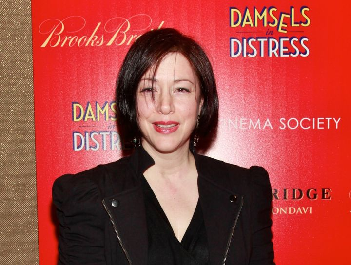 """Carolyn Farina attends a screening of """"Damsels in Distress"""" on April 2, 2012, in New York City."""
