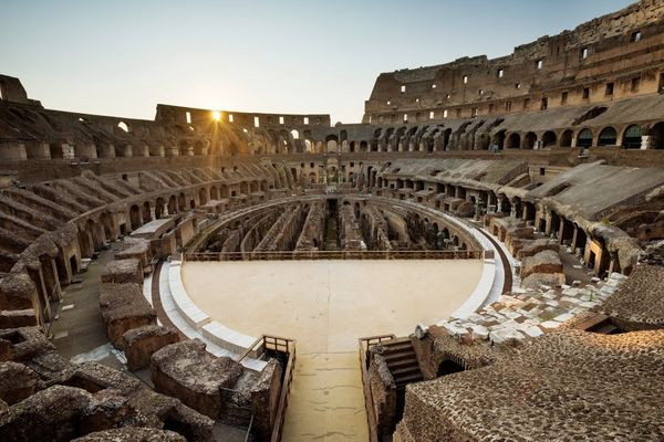This massive 50,000-seat amphitheater is Rome's most thrilling sight, and a monument to raw, merciless power that can s