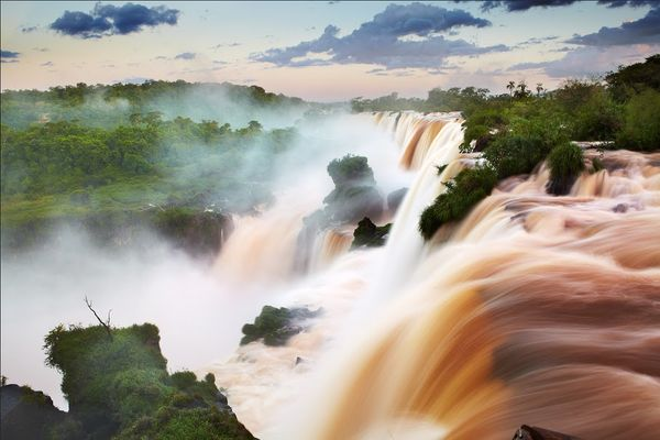 The Guaraní name, Big Water, is a huge understatement:these falls are so enormous, tour boats in the foaming poo