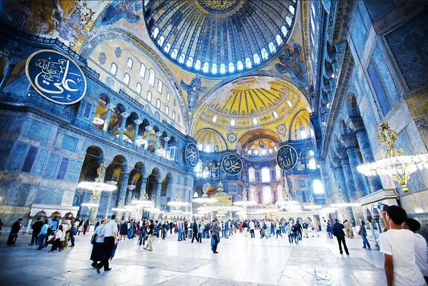 A church, mosque and museum in one, Istanbul's Aya Sofya defies easy categorization. It was built almost 1,500 years ag