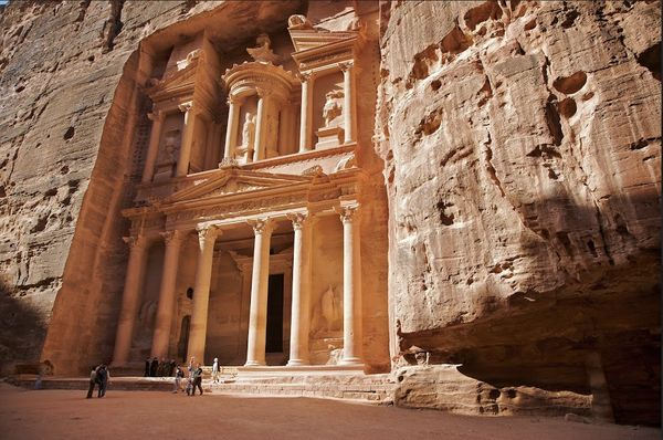 """Most people's impressionof Petra comesfrom """"Indiana Jones,"""" but beyond experiencing the drama of the Siq, y"""