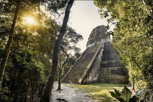 Guatemala's most significant Mayan ruin site, the once-bustling metropolis now gives off a haunted jungle ambience.