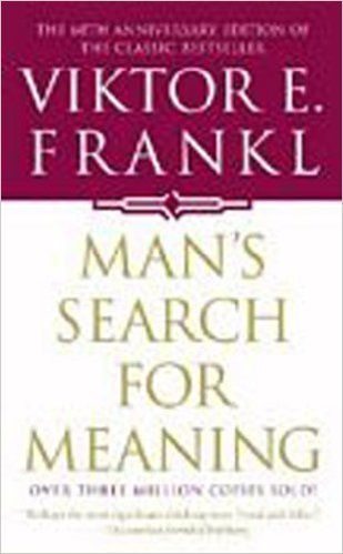 """The book begins with a lengthy, austere, and deeply moving personal essay about Frankl's imprisonment in Auschwitz and othe"