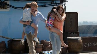 "Owen Wilson and Lake Bell star in ""No Escape."""