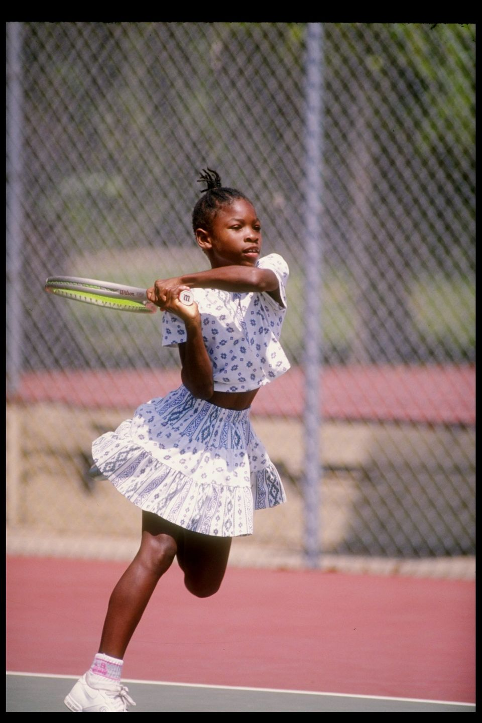 Serena Williams in 1992.